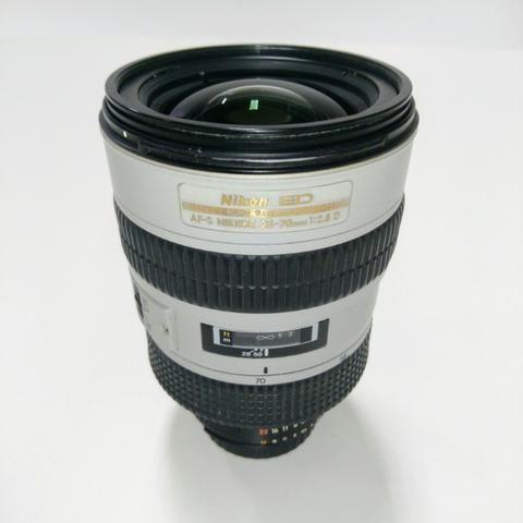 Rara Nikon 28-70mm F/2.8 Af-s Ed White Edition em perfeito estado, revisada!