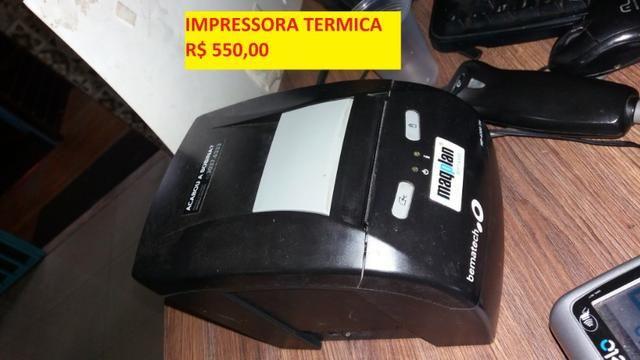 Impressora termica bematech