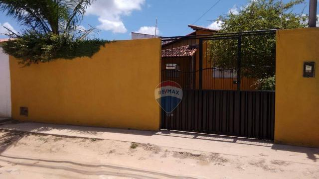 Casa com 2 dormitórios para alugar, 80 m² por r$ 500/mês - nova esperança - parnamirim/rn