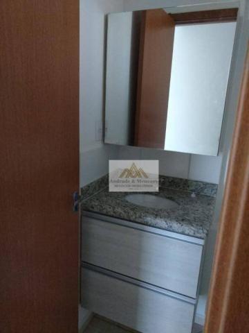 Apartamento com 2 dormitórios para alugar, 50 m² por r$ 850/mês - ipiranga - ribeirão pret - Foto 13