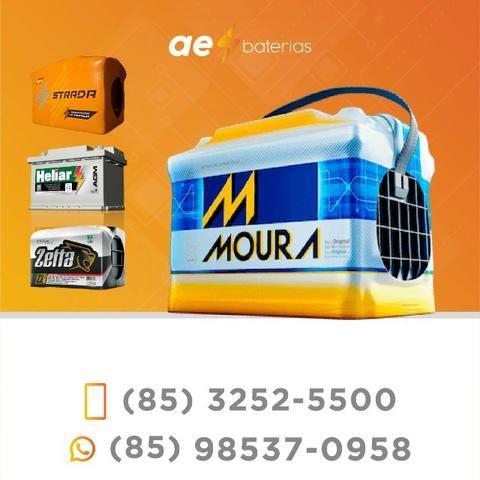 Aproveite e compre a bateria 90Ah Moura e Heliar