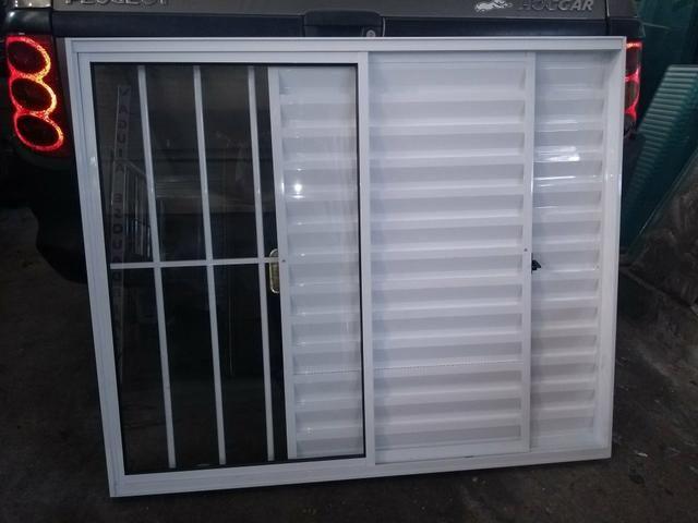 Portas, janelas, porta Balcão esquadrias em alumínio - Foto 5