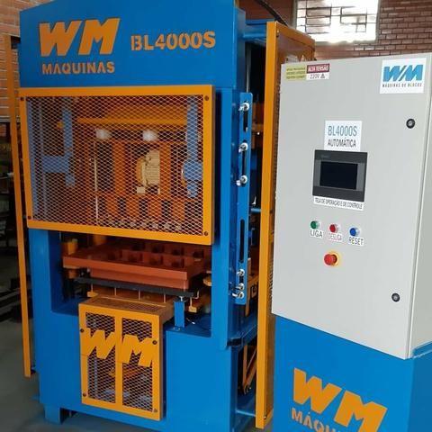 Máquina de blocos e pisos de concreto automática - Foto 2
