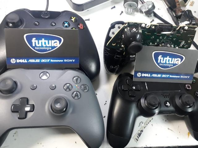Consertamos controle playstation 4 e xbox one