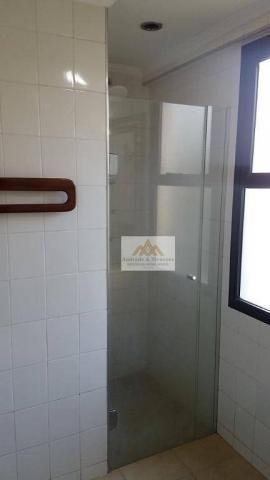 Apartamento com 3 dormitórios para alugar, 107 m² por r$ 1.300/mês - centro - ribeirão pre - Foto 8