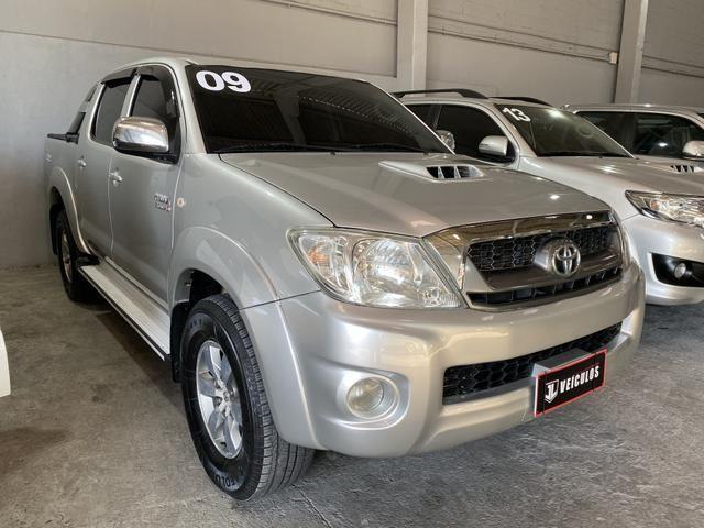 Toyota Hilux SRV 3.0 automática TOP