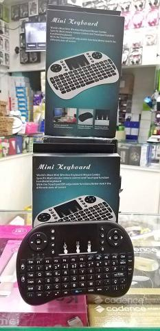Mini Teclado Sem Fio Wireless Touch Pad Universal (Loja n Cohab) - Foto 4