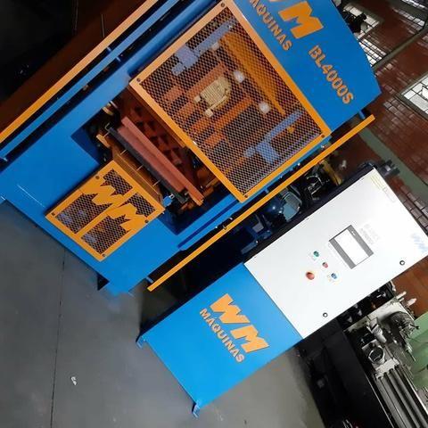 Máquina de blocos e pisos de concreto automática - Foto 3
