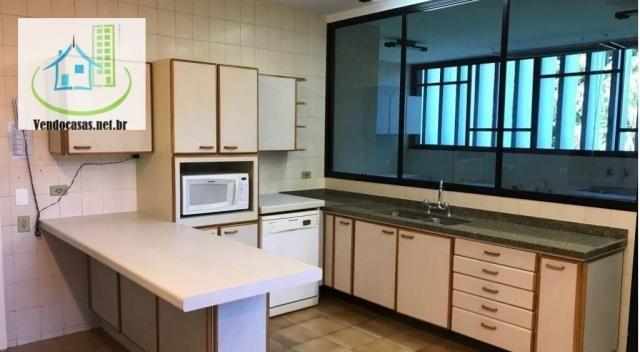 Apartamento com 5 dormitórios para alugar, 541 m² por r$ 23.000/mês - santo amaro - são pa - Foto 7