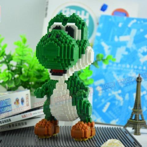 Bloco De Montar Yoshi 1500 Pecas Tipo Lego Artigos Infantis