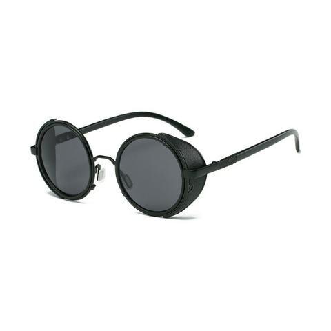 69c29f1f23472 Óculos de Sol   Escuros Steampunk Unisex Estilo Alok - Bijouterias ...