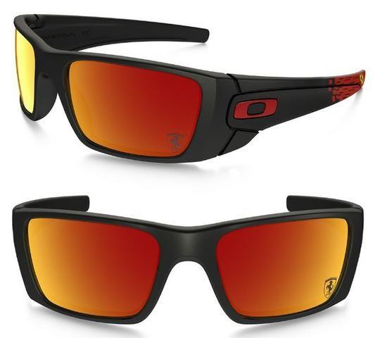 5a8a1fd0b1bd3 Óculos Oakley Ferrari Fuel Cell - Iridium - Grátis um Case ...