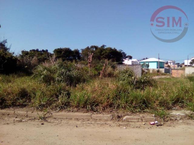 Terreno à venda, 420 m² por r$ 80.000 - guriri - cabo frio/rj
