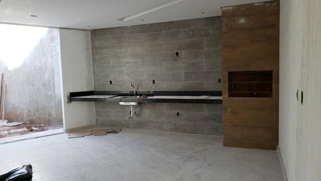 Casa Nova 3suites churrasqueira rua 5 Vicente Pires condomínio fechado - Foto 13