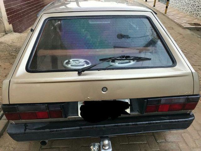 Volkswagen gol GL motor 1.8 cor bege ano 1991 muito conservado. - Foto 4