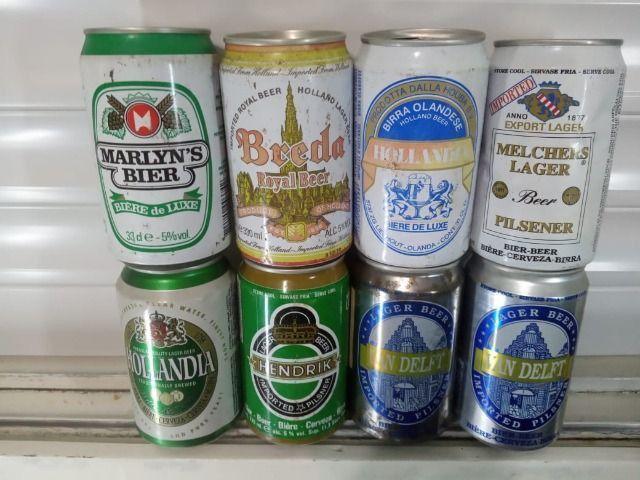 Lote Coleção de Latas Cervejas Importadas Holanda Anos 90 - Foto 4