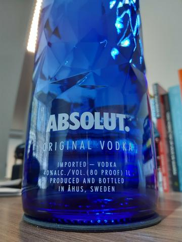 Vodka Absolut Edição Ltda