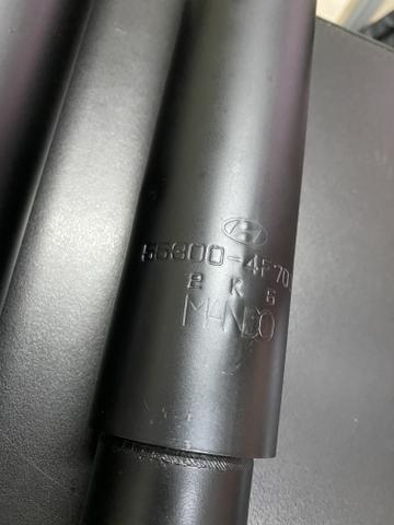 Par de amortecedor traseiro Hyundai Hr 2005 a 2013 usado - Foto 2