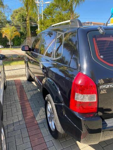 Hyundai Tucson 2012 GLS-B Preto Automático e Banco de Couro - Foto 6