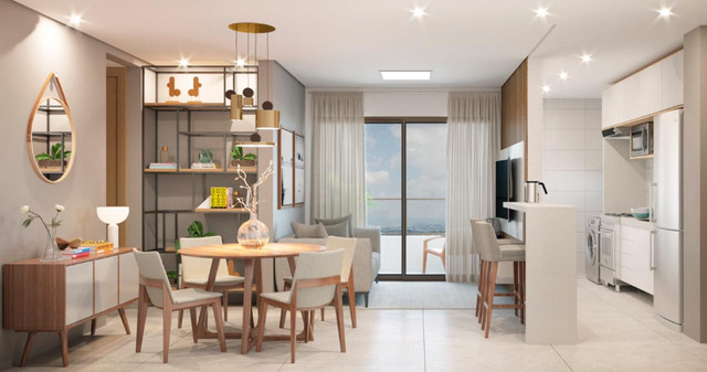 Apartamento com excelente localização em Intermares - Foto 6
