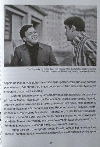 Livro Erasmo Carlos Minha Fama de Mau - Foto 6