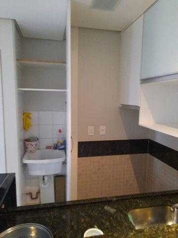 SCRN 708/709, apt 01 quarto repleto de armários, dividido, com garagem - Foto 12