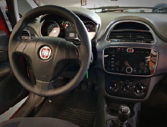 Fiat Punto 1.4 Attractive Italia 8v Flex 4p Manual-2013 - Foto 6