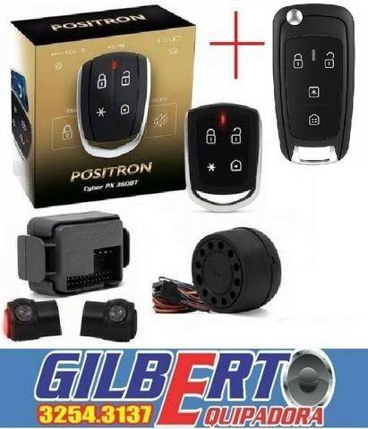 Alarme Positron cyber PX360BT + Controle Canivete/ instalação grátis
