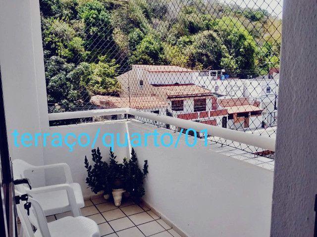 Apartamento no Cabo branco com 3 quartos, sendo 2 suítes + DCE e 2 varandas. - Foto 13