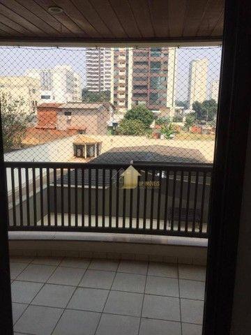 Apartamento com 3 dormitórios para alugar, 109 m² por R$ 2.000,00/mês - Quilombo - Cuiabá/ - Foto 3