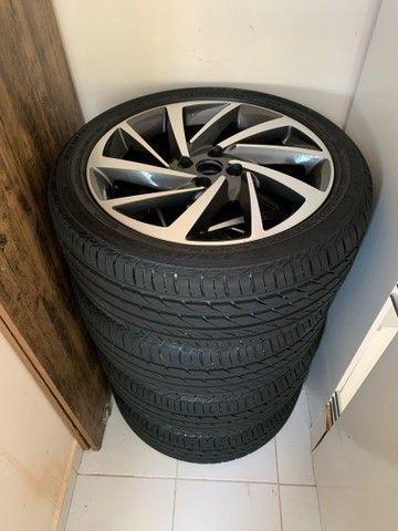 Jogo de rodas novo  aro 17 com pneus novos