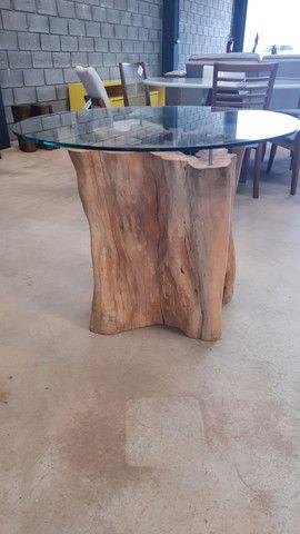 Mesa de tronco  - Foto 3