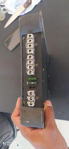 Vendo falante keybass com suspensão de borracha com reparo da pionner uma Barra crossover - Foto 6