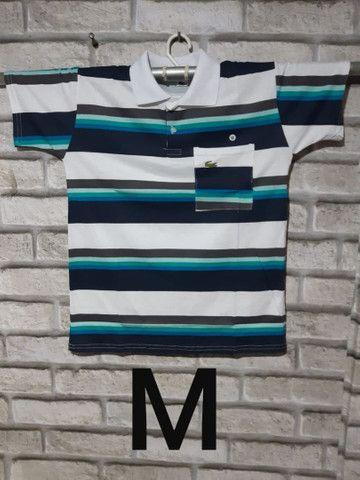 Camisas Gola Pólo: (P) (M) (G) e (GG) - Foto 5