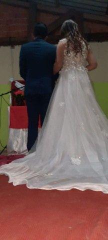 Vendo vestido de noiva. - Foto 3