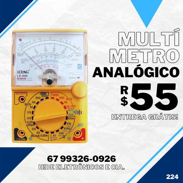 Multímetro Analógico (entrega grátis)