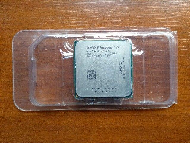 Processador AMD Phenom II X4 desbloqueado com Cooler Box