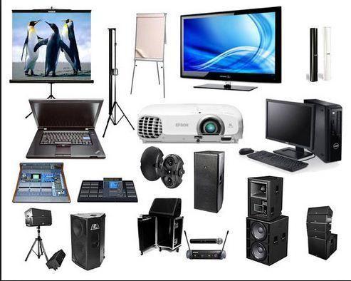 Locação de Telão Datashow, projetor, som, notebooks, impressoras