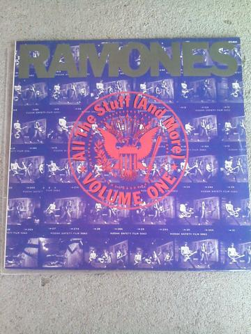 LP RAMONES All The Stuff(And More)Vol1