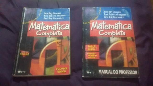 Livros Matemática Completa