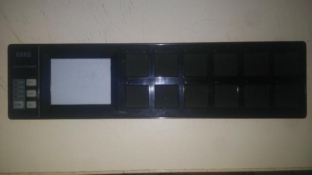 Controlador Korg Nano Pad - Produto nunca usado - Compro da Korg Tx- USA