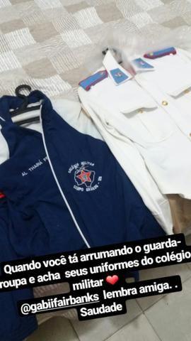 Farda Gala Colégio militar