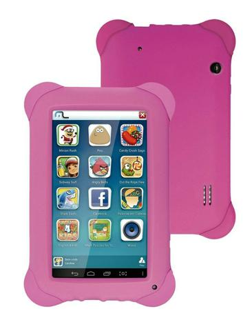 Tablet Kid Pad Quad Core Android 4.4 Wi-Fi 7 8GB Rosa - Multilaser