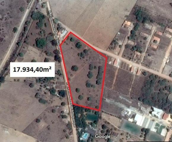 Terreno bem localizado, próximo ao Arapiraca Garden Shopping - Gleba com 18 mil m²