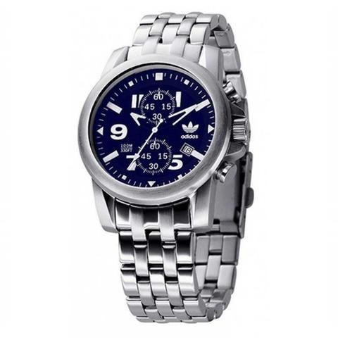 Relógio Adidas Trefoil Flyboy PRATA/azul