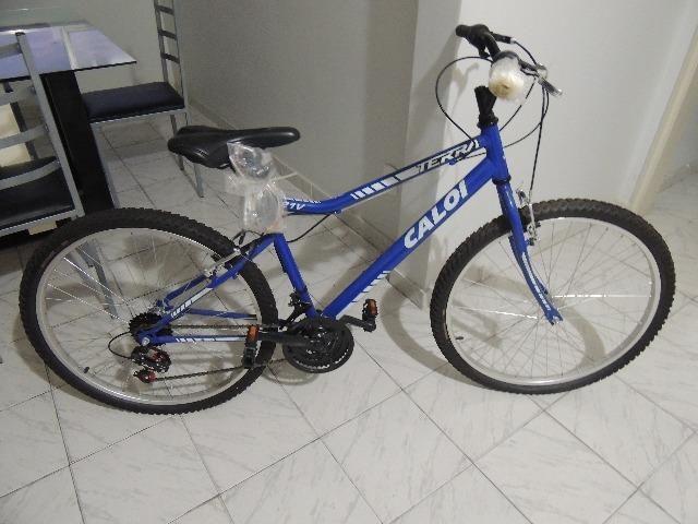 Bicicleta Caloi Terra 21v azul