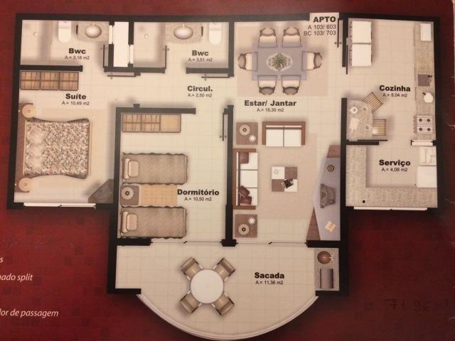 Apartamento 2 quartos saco grande. IMPeRDíVeL