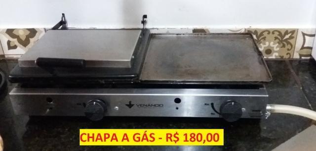 Chapa de lanche a gás R$ 160,00