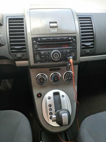 Sentra 2012 automático, GNV