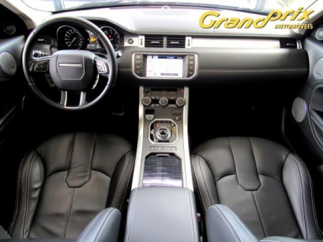 EVOQUE 2012 2.0 PRESTIGE 4WD 16V GASOLINA 4P AUTOMÁTICA PRETA COMPLETA + TETO SOLAR! - Foto 8